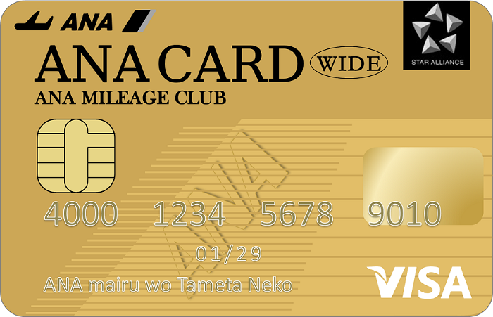 最強ANAカードはANA VISAワイドゴールド!その魅力とお得な発行方法