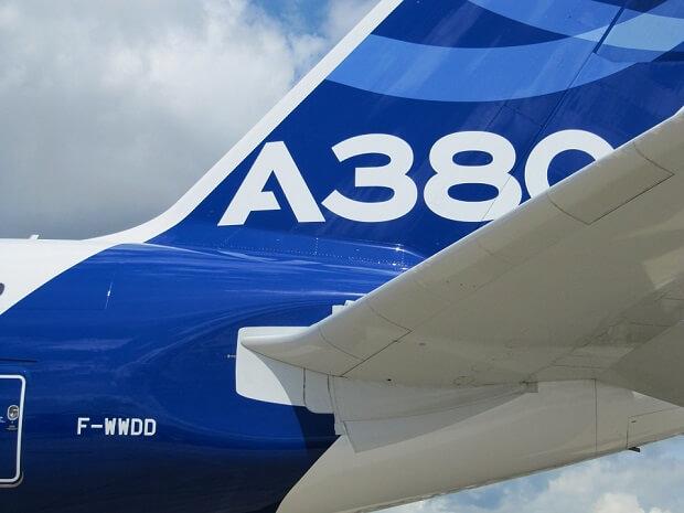 旅の締めくくりはタイ航空のエアバスA380で