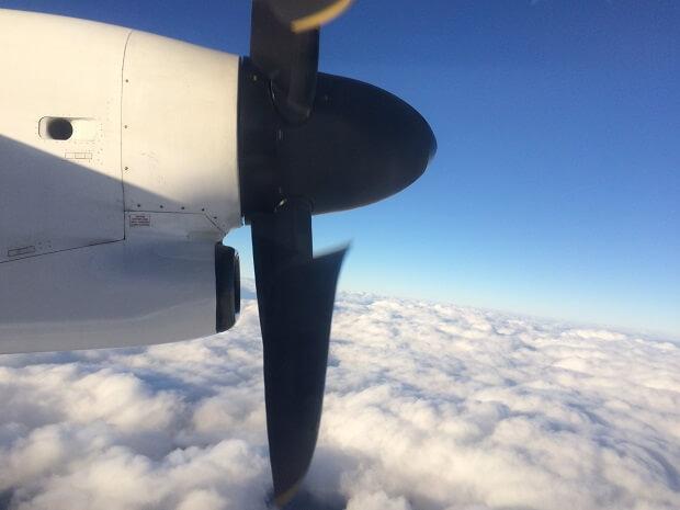 ANAウイングス運航の小型機材も楽しめる松山空港の魅力