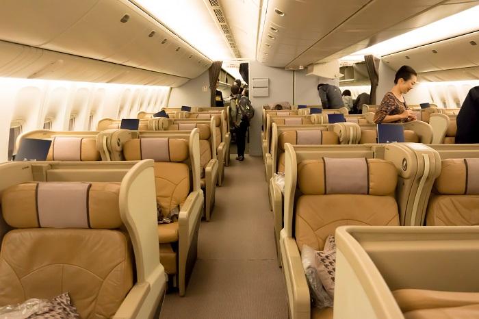 シンガポール航空ビジネスクラス搭乗記|B777-300とA330-300