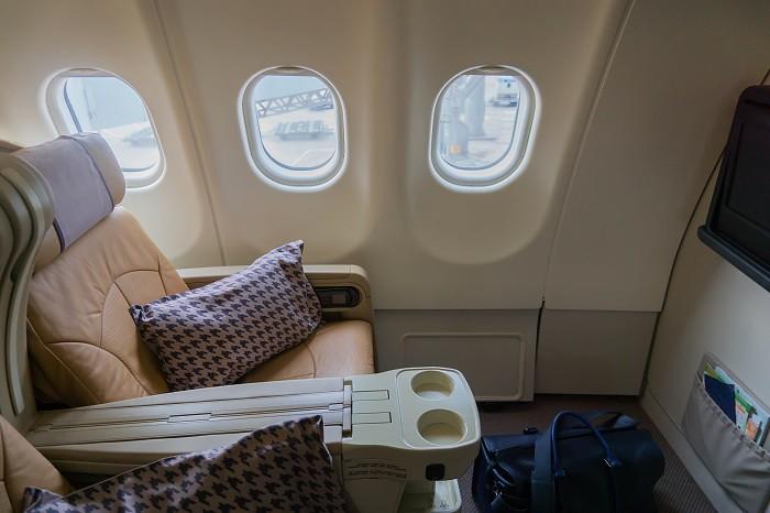 171201 シンガポール航空A330-300ビジネスクラス
