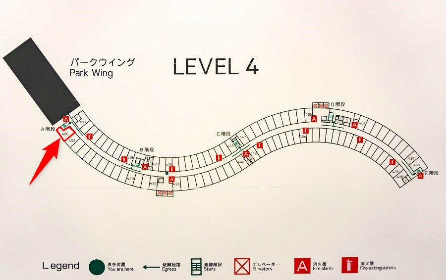 シェラトン・グランデ・東京ベイ・ホテル舞浜 4階