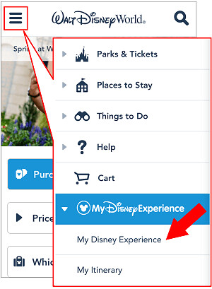 170215 My Disney Experienceリンク作業1